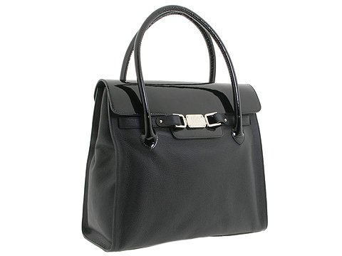 A. Testoni - BD03239 (Black/Black) - Bags and Luggage