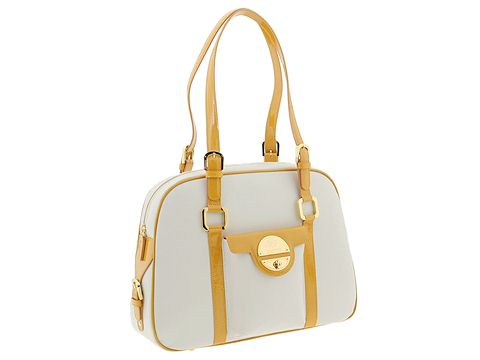 A. Testoni - BD03218 (Cream/Yellow) - Bags and Luggage
