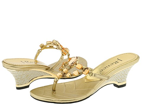 9755 587593 p - silver n gold flats