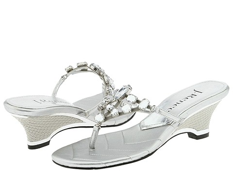 9755 587594 p - silver n gold flats