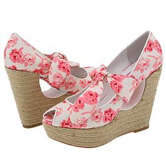 betsey johnson pink wedding shoe