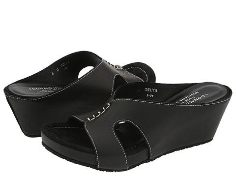 Donald J Pliner - Gelya (Black Nappa) - Footwear