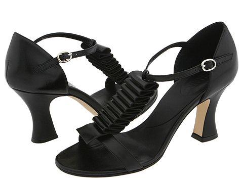 Prari - Rachelina (Black/Black Suede) - Footwear
