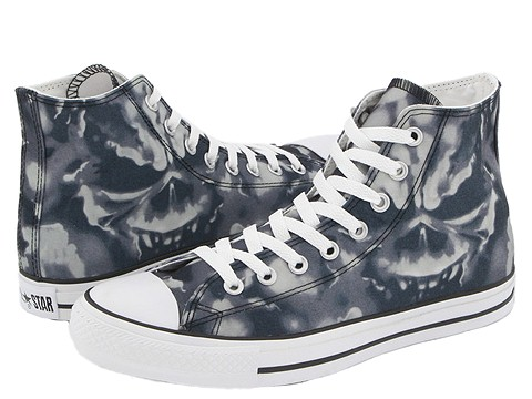 Converse - Chuck Taylor All Star Cloud Demon Hi (Grey/Demon Cloud) - Footwear