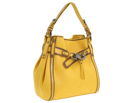 Francesco Biasia - Electra - North-South Single Handle (Yellow) - Bags and Luggage