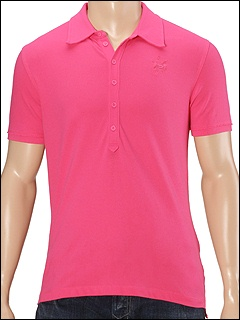 Diesel - Trako-SP Polo Shirt (Neon Pink) - Apparel