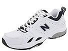 New Balance - MX622 (White/Navy) - Footwear