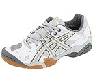 ASICS - Gel-Domain (White/Silver/Gold) - Footwear