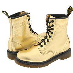 Dr. Martens - 1460 W (Gold Metallic) Boots