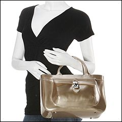 Furla Handbags - Eurice Medium Shopper MC (Oro-Gold) - Bags and Luggage