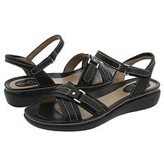 Easy Spirit - Coastal (Black Leather) - Footwear