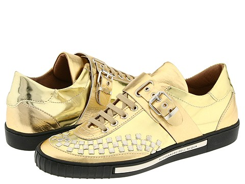 Alessandro Dell'Acqua - 8717 (Gold) - Footwear