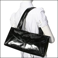 Kenneth Cole Reaction Glaze Of The Week Satchel (Banana) - Handbags :  purse kenneth cole reaction shiny bag