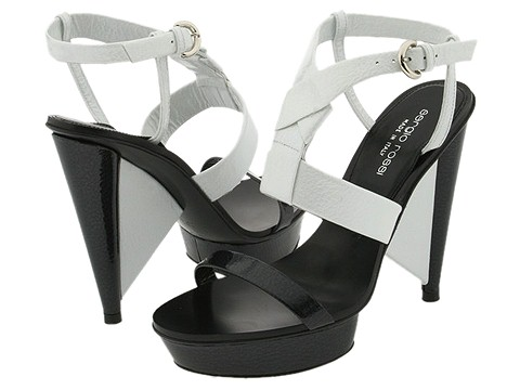 Sergio Rossi AT3911.006 Black/White - Footwear