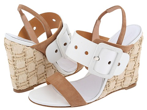 Sergio Rossi Naomi Sand/Bianco/Bianco - Footwear