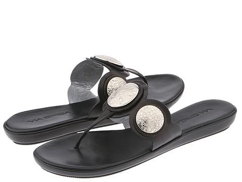 Via Spiga - Writ 2 (Black Leather) - Footwear