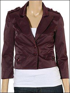 MISS SIXTY - Terezinha Jacket (Dark Purple) - Apparel