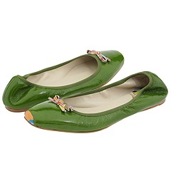 Paul Smith S7LP-A792 (Green) - Paul Smith Shoes :  paul smith sale paul smith flats snub toe patent leather flats
