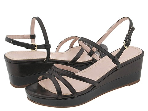 Prari - Ally (Black Leather) - Footwear