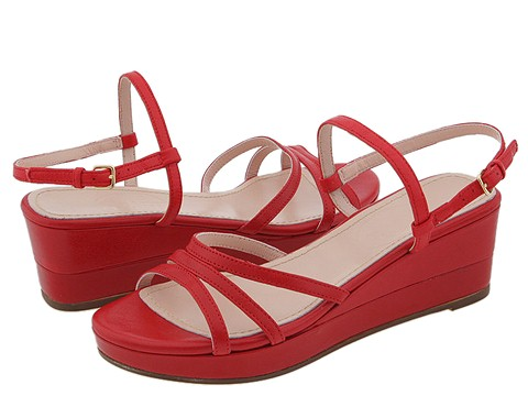 Prari - Ally (Red Leather) - Footwear