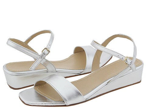 Prari - Bertha (Silver Leather) - Footwear