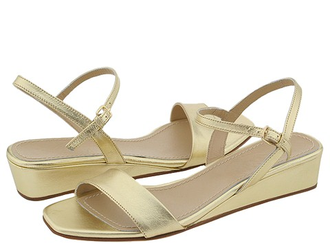 Prari - Bertha (Gold Leather) - Footwear