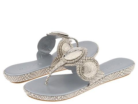 Via Spiga - Writ (Ivory Cobra Patent) - Footwear