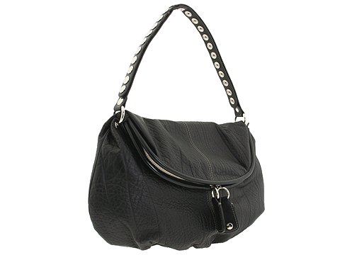 D&G Dolce & Gabbana Rebecca Elefante Large Hobo Black - Bags and Luggage