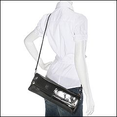 Franco Sarto - Diva East/West Clutch (Black) - Bags and Luggage