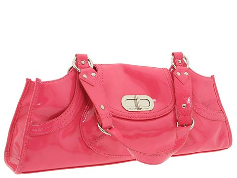 Franco Sarto - Turnstyle East/West Satchel (Watermelon) - Bags and Luggage