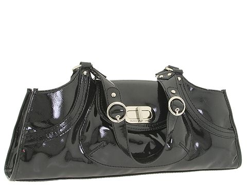 Franco Sarto - Turnstyle East/West Satchel (Black) - Bags and Luggage