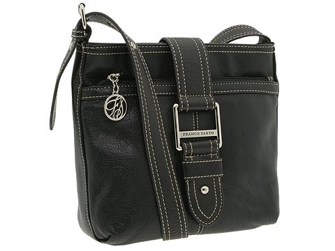 Franco Sarto - Sydney Cross Body (Black) - Bags and Luggage