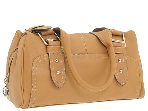 Franco Sarto - Sydney Satchel (Caramel) - Bags and Luggage