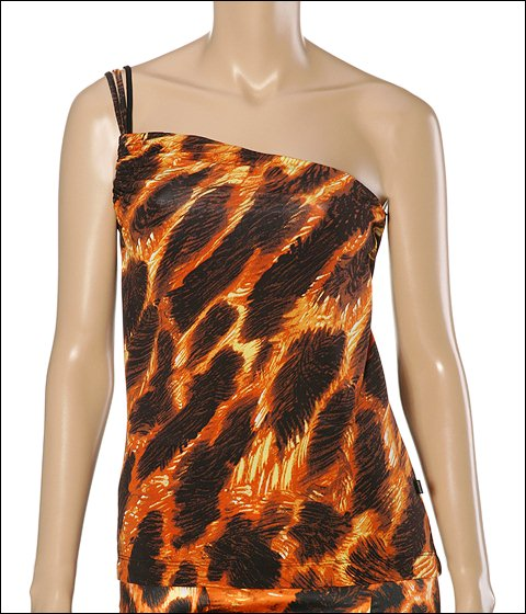 Just Cavalli Jaguar Print Top Jaguar Print - Apparel