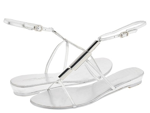 8521 624624 p - silver n gold flats