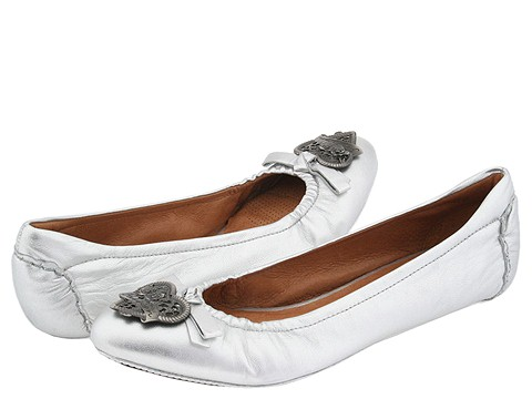 Corso Como - Posy (Silver Butterskin) - Footwear