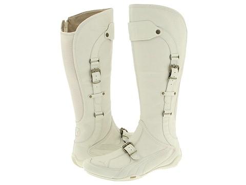 PUMA Berlin Boot (White Asparagus/Silver )  :  puma boots