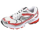 Saucony - ProGrid Ride W (White/Red White/Red) - Footwear