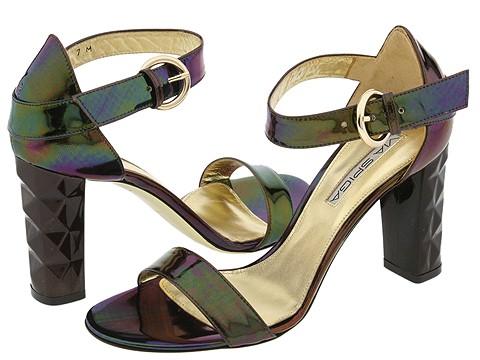 Via Spiga - Zory (Dark Brown Specchio Petrol) - Footwear