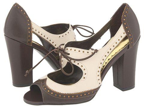 BCBGirls - Kaola (Chocolate/Cream Soft Box Calf) - Footwear
