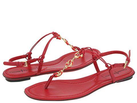 Cesare Paciotti - 283515-Kiss Kiss (Red) - Footwear