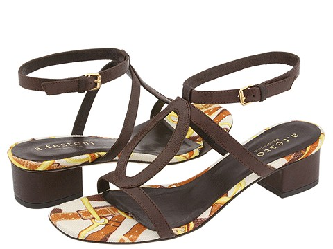 A. Testoni - Sandal (Dark Brown) - Footwear