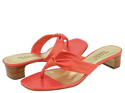 Franco Sarto - Plush (Lt. Coral Capra) - Footwear