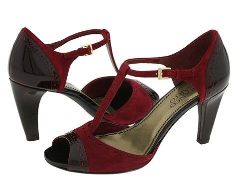 Franco Sarto - Ability (Merlot Suede/Patent) - Footwear