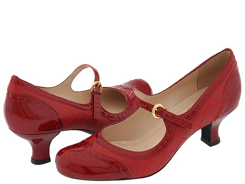 Franco Sarto - Embrace (Red Mirage Patent) - Footwear