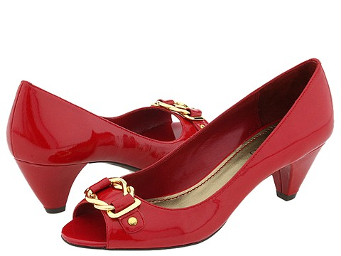 Franco Sarto - Native (Garnet Patent) - Footwear