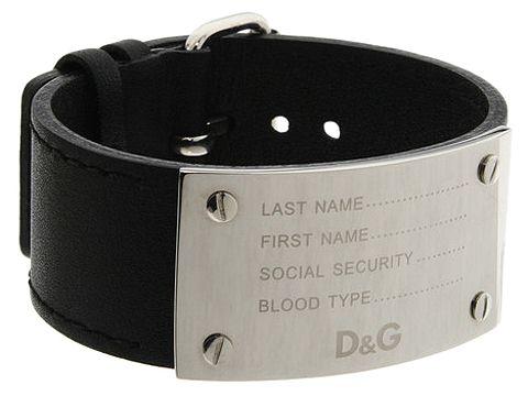 D&G Dolce & Gabbana - DJ0715 (Black) - Jewelry