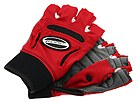 Bionic - Fitness Gloves - WOMENS (Gray/Red) - Accessories