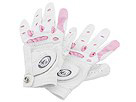 Bionic - Classic Golf Gloves-2 Pack Left Hand - WOMENS (White/Pink) - Accessories