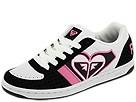 Roxy - Makena (White/Black/Azalea Pink) - Footwear